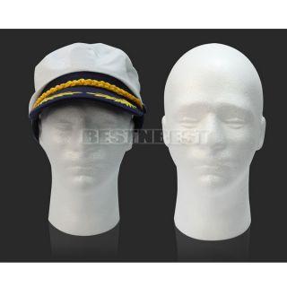 Hot Styrofoam Foam Mannequin Male Head Stand Model Display Holder Wig Hats Mask