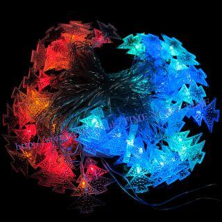 New Colorful 52 LED 9M String Light Fairy Party Christmas Tree String Light 220V