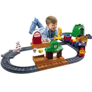 Fisher Price Toots The Train Track Set Voice Activated RARE New Thomas
