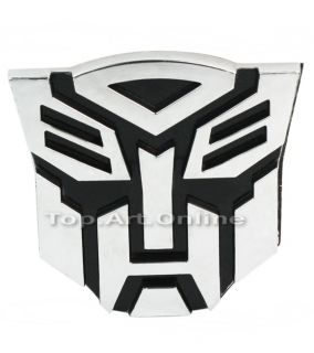 2X Super Transformers Logo Autobot 3D Emblem Badge Decal Motorcycle Car Sticker