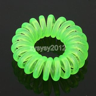100pcs Mix Color Phone Hair Strap Band Tool Accessory