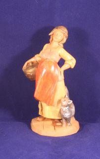 """Fontanini 1997 Dep Italy Simonetti Priscilla Nativity 5 """" Figure 160"""