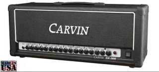 Carvin SX300H 3 Channel 100 Watt Electric Guitar Amp Amplifier Head New