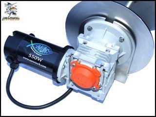 SAV Winch 550 Watt Electric Boat Anchor Winch 12V IP66