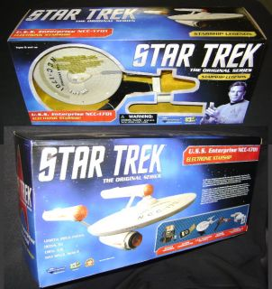 Star Trek Starship Legends USS Enterprise NCC 1701 HD Diamond Select 2012 SEALED