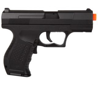 New M202 P99 Full Auto Electric Blowback Airsoft Pistol AEG Gun w 6mm BBs BB