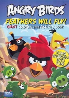 Angry Birds Feathers Will Fly Coloring and Activity Book 1559934522
