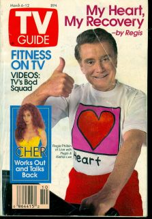 1993 TV Guide Regis Philbin Live with Kathie Lee