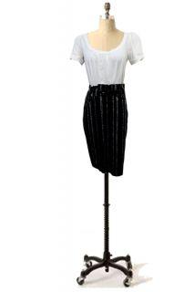 New Eva Franco Anthropologie High Wast Belt Floral Feminine Skirt 2 6 8 10 12 14