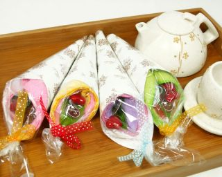 Crepe Towel Wedding Favor Baby Bridal Shower Party Gift Dessert Wrap