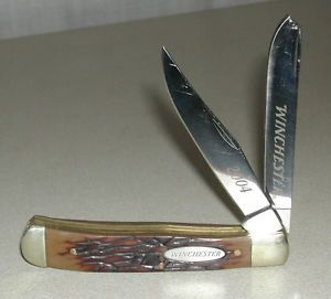 WINCHESTER 2004 TRAPPER KNIFE FOLDING HUNTING FISHING