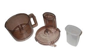 Regal La Machine II Food Processor Bowl Lid and Food Pusher Replacement Parts