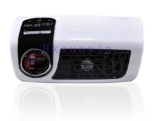 DLP 3D LED Home Projector DMD Mini Projector 1080p USB TV HDMI 500LUMENS 16 10