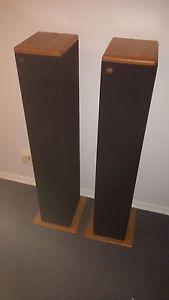 Vintage Floor Standing Speakers