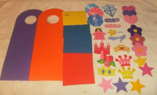 Foam Craft Kit 2 Doorknob Hangers Boys Girls