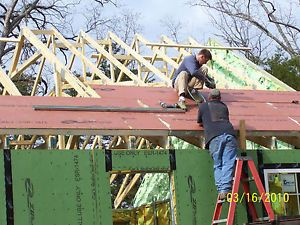 24 x 32 Cabin Kit 768 SF House Steel SIP Soy Foam $1000 DN DIY No Crane No Resve