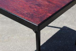 Original Singer Featherweight 221 Sewing Machine Folding Table Mahogany USA