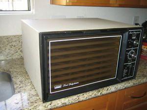 Vintage Montgomery Ward 9 Tray Electric Food Dehydrator Excalibur with Timer