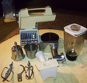 Vintage Oster Imperial Kitchen Center Food Preparation Appliance