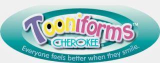 Cherokee Tooniforms Warm and Fuzzy Eeyore Scrub Top 6973VB PHFZ Disney Cute