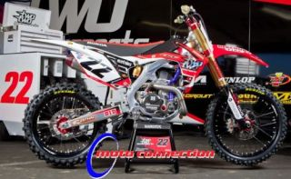 Chad Reed Two Two Motorsports Graphics Kit Honda CRF450 2009 2012