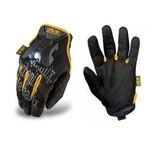 Mechanix Mens Cycling LED Waterproof Light Padded Long Finger Bike Gloves