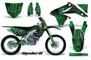 Suzuki RMZ 250 10 12 RMZ 450 08 12 Graphics Kit Spiderx SXGNP