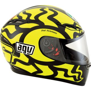 Agv Motorcycle Helmet GP Tech Rossi Winter Test Medium