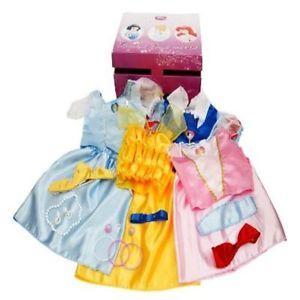 Disney Princess Dress Up Trunk Costume Toy Kids Play Children Game Fun Gift New