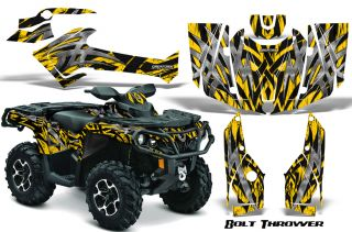 Can Am Outlander 800 1000 R XT 2012 Graphics Kit Decals Stickers BTY