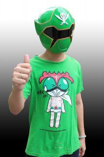 Green Power Rangers Gokai Green Ranger Kaizoku Sentai Helmet Costume 1 1