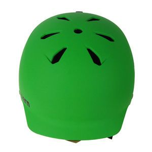 Bern Watts Hard Hat Men's BMX Skate Helmet Neon Green XL