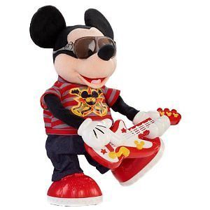 Disney Rock Star Mickey Mouse Guitar Play Toy Kids Toddler Toys Ages 2 and Up