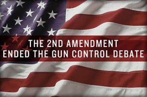 Patriotic 2nd Amendment US Flag Hard Hat Sticker Decal