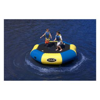 Rave Sports Bongo Bounce Platform Water Trampoline 10 Foot 2012 New