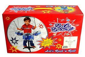 New Child Kid Toy Kids Big Band Drum Set Toy Drum