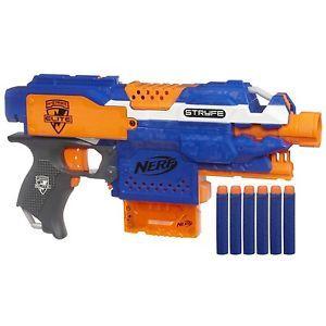 Nerf N Strike Elite Stryfe Blaster Toy Gun Indoor Outdoor Rifle Kids New
