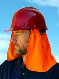 Uveto Neck Flap for Cap Hard Hat Helmet UV Protection