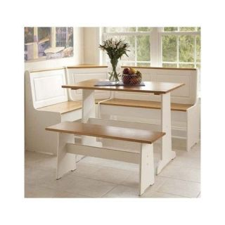 Breakfast Nook Dining Room Table Chair Booth Set Wood Kitchen Corner Bench Seat