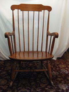 Classic Nichols Stone Co Rocking Chair Boston Rocker Gardner ...