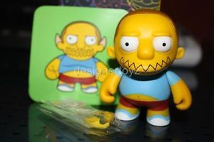 Kidrobot The Simpsons 1 Comic Book Guy Dunny Collectible Art Designer Urban Toy