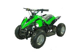 Kids Ride on Toy Mini Dirt Quad ATV 4 Wheeler Battery Powered 36V Electric Green