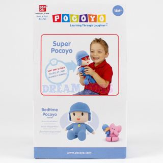 "Pocoyo Super Plush Doll 9"" Small Hero Outfit Boys Girls Stuffed Toy Licensed"