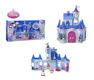 Disney Princess Castle Dollhouse Cinderella Fairytale Playset Toy Kids Girls BN
