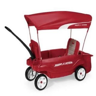 Kids Ride on Toy Radio Flyer The Ultimate Comfort Wagon Red New Shipp Gift