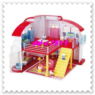Hello Kitty Doll House Set Kids Girls Toy Figure Kawaii Sanrio Gift F s Bargain