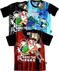 Ben 10 Kids Boys Ben Ten Toys T Shirts Shirt Sizes Age 2 3 4 5 6 7 8 9 10 Years