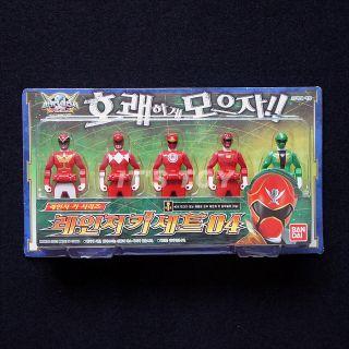 Power Rangers Kaizoku Sentai Gokaiger Gokai Ranger Key Set 04 Bandai