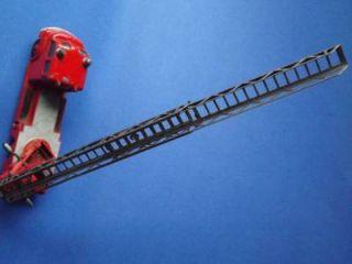 Matchbox Fire Ladder Truck