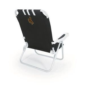 University of Wyoming Cowboys Reclining Portable Beach Chair